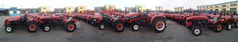 Adjustable Tread 55HP Diesel Mini Tractor