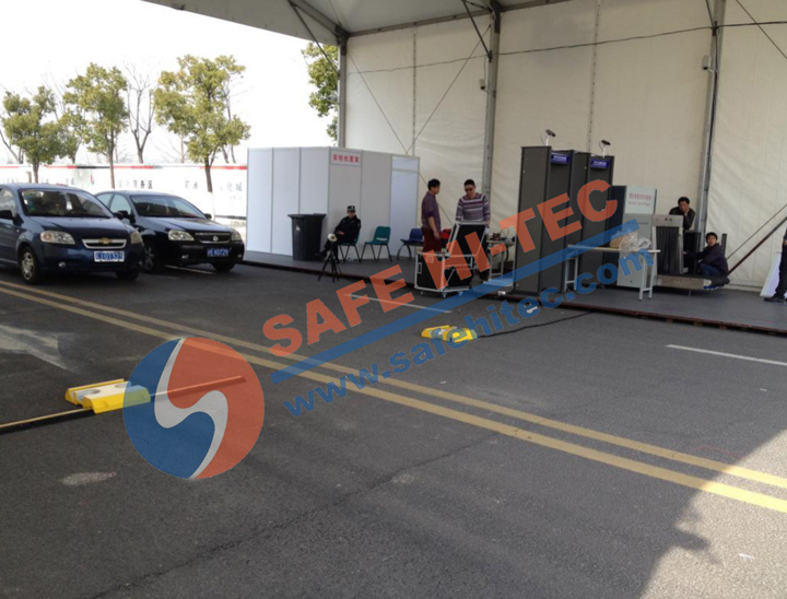 Uvss Under Vehicle Surveillance System, Under Car Inspection System