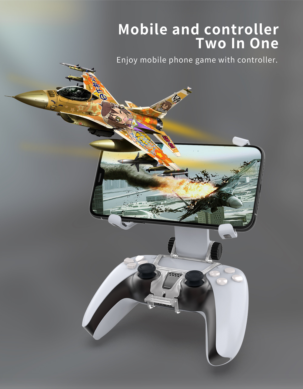 Adjustable Stand for PS5 controller gamepad