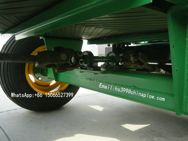Trailed Type Fertilizer Spreader with Two Discs Rotary Spreader for Sale