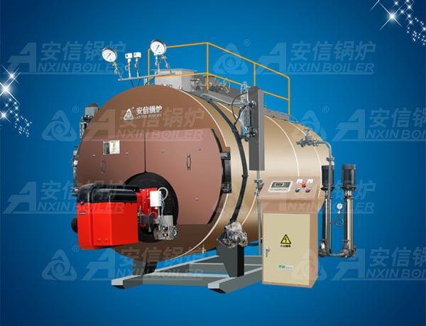 Horizontal Industry Oil (Gas) Condensing Bearing Steam Boiler Wns1