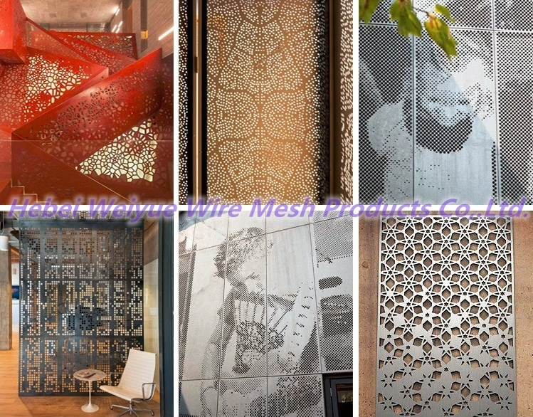 Factory Carbon Steel Perforated Wire Mesh/ Perforated Sheet for Industrial Equipment