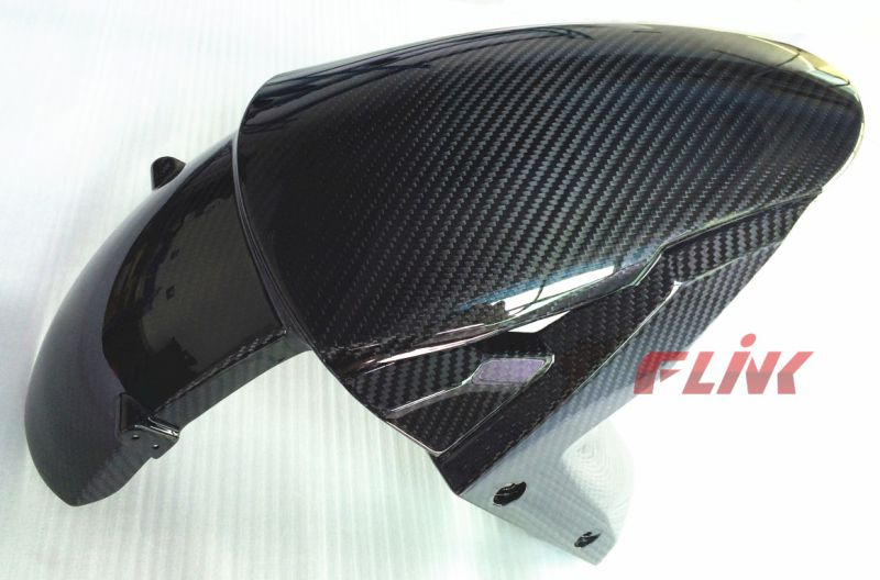 Motorcycle Carbon Fiber Front Fender for Kawasaki Zx10r 2016