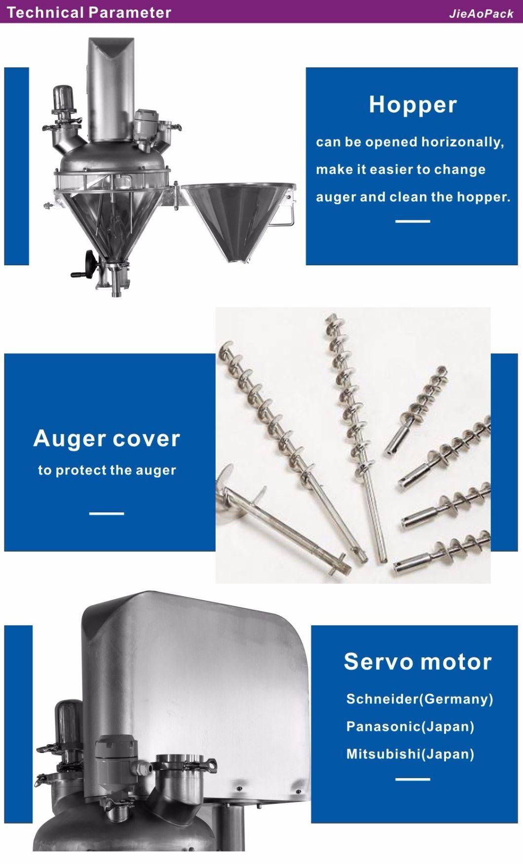 Auger Measuring Machine for Colour Powder/Pepper/Salt/Sugar in Powder Packing Machine Equipment (JA-15LB-B)