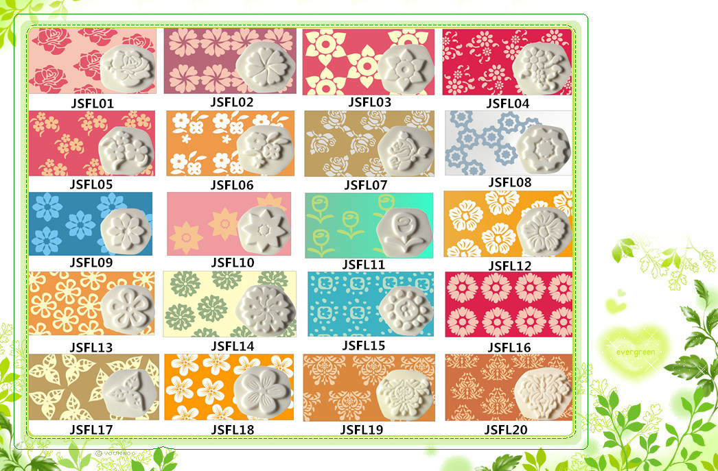 Wall Decrative Painting Tool Sponge Stamp Kit