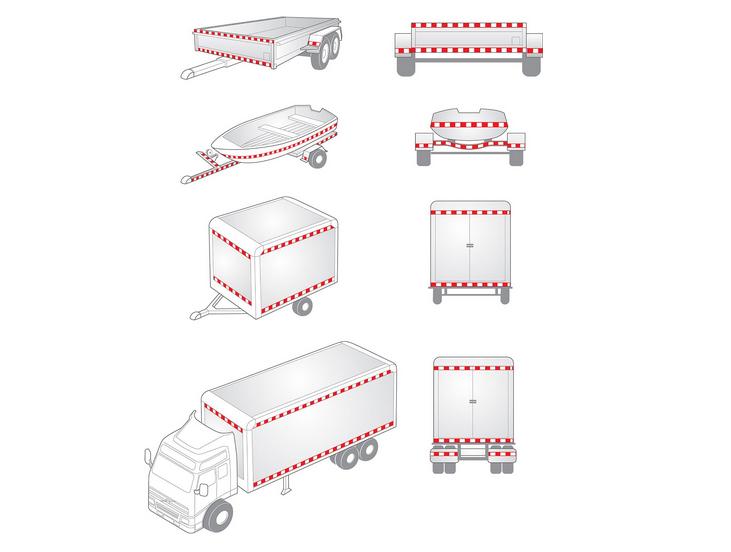High Visibility Honeycomb Hazard Warning Reflective Material Barricade Tape (C3500-S)