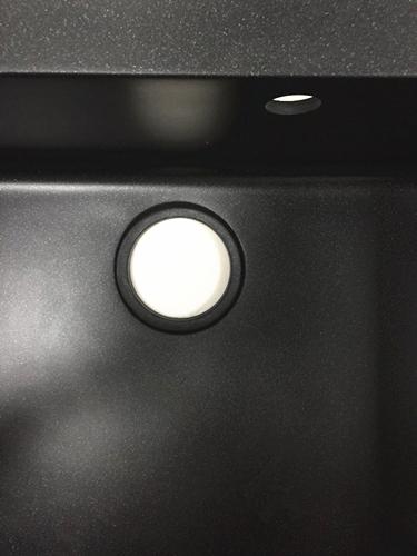 Sanitary Ware Double Bowls Granite Kitchen Sink (HB8206)