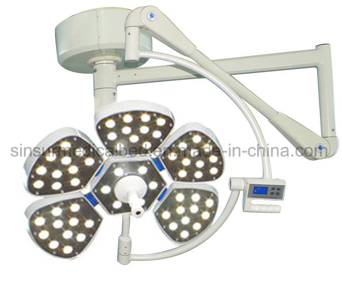 Hospital Surgical Equipment Petal Type Single-Head LED Ceiling Operating Light