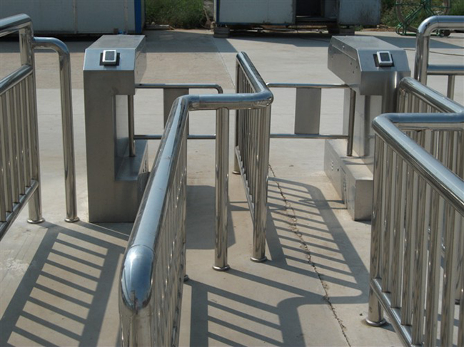 AC 90V-240V Turnstile Gateau Tomatic Barrier Gate