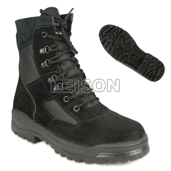 Tactical Boots of Cowhide Full Grain Leathe/Anti-Slip and Anti-Abrasion/Can Wear to Anywhere