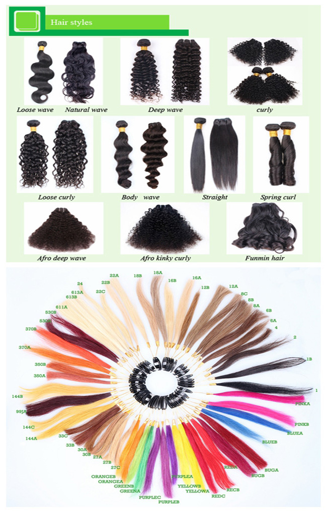 Wholesale Grade 7A Brazilian Remy Virgin Human Hair Extension