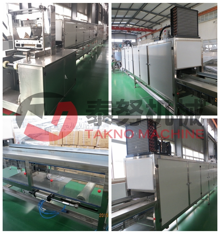 Jelly Candy Depositing Line Making Equipment