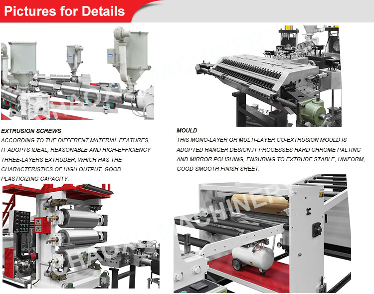 Over 20 Years Experience Manufacturer Plastic Extruder PC Luggage Machine