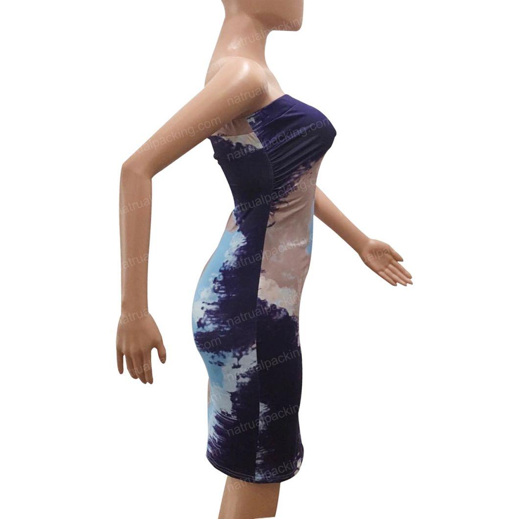 New Arrival Neck off Shoulder Sexy Club Women Dress