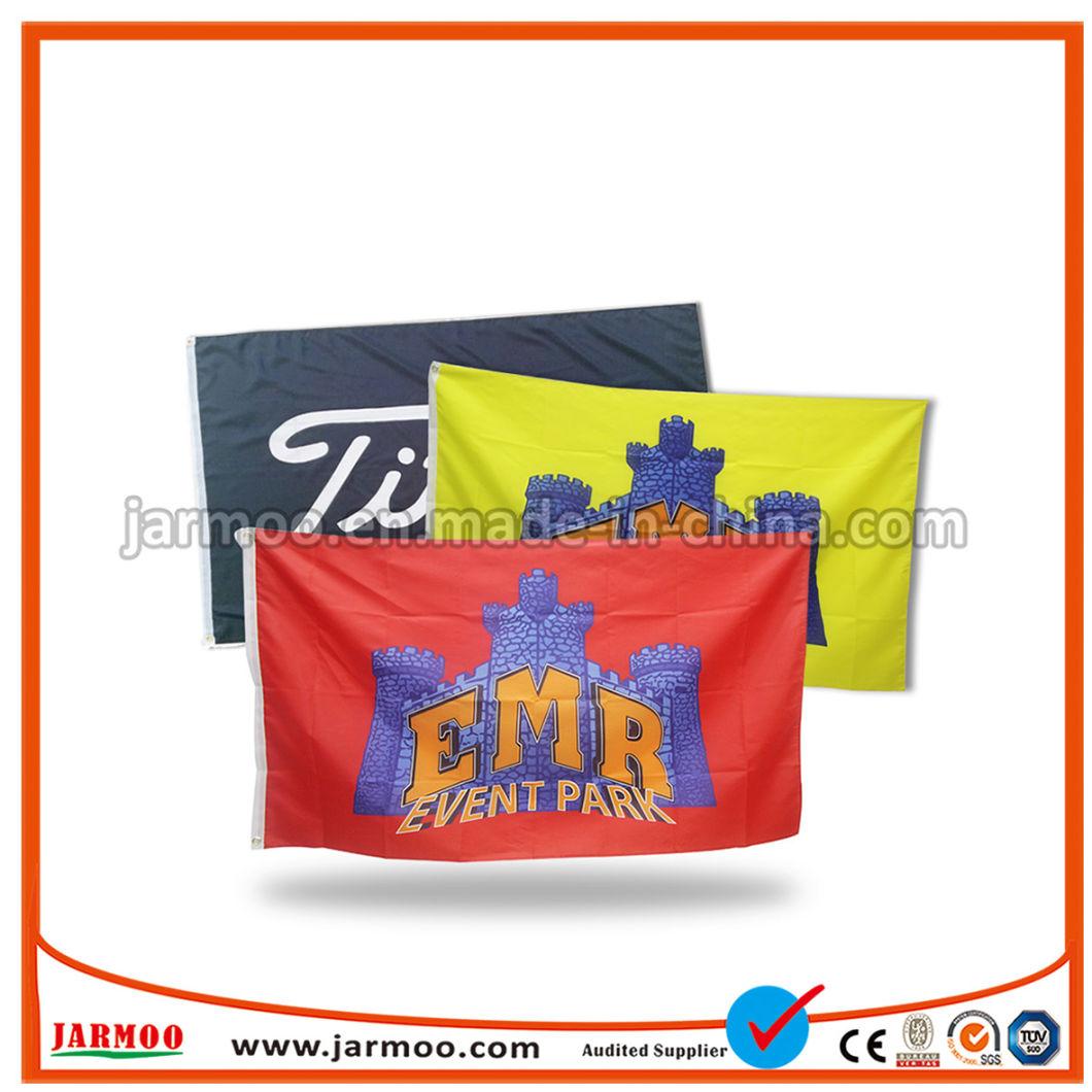 100d Polyester Printed Vertical Flag Banner