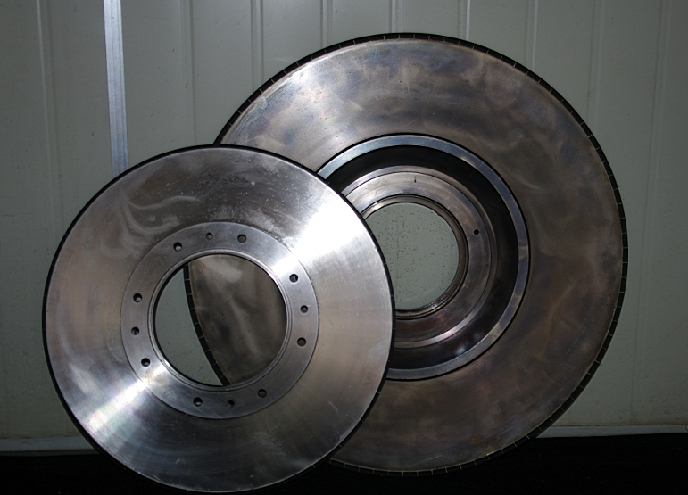 Vitrified Bond Diamond and CBN Grinding Wheels (6A2, 1A1W)