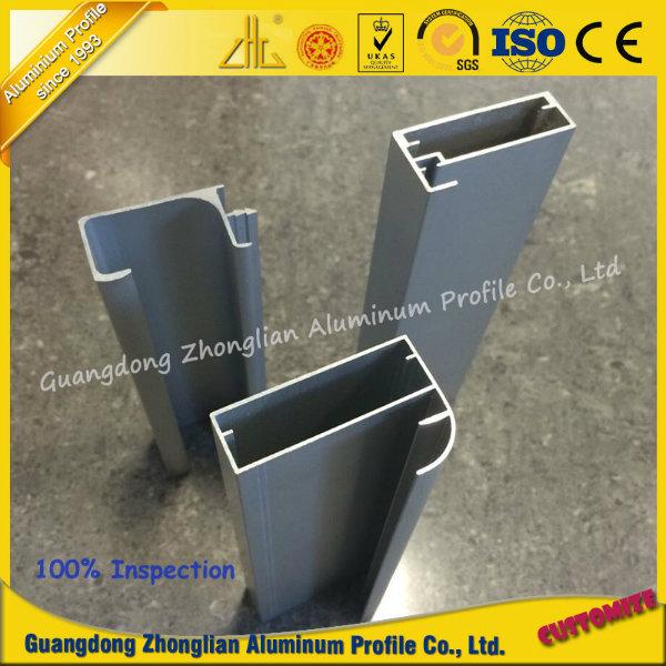 OEM Furniture Aluminum Extrusion Profile for Cabinet Frame