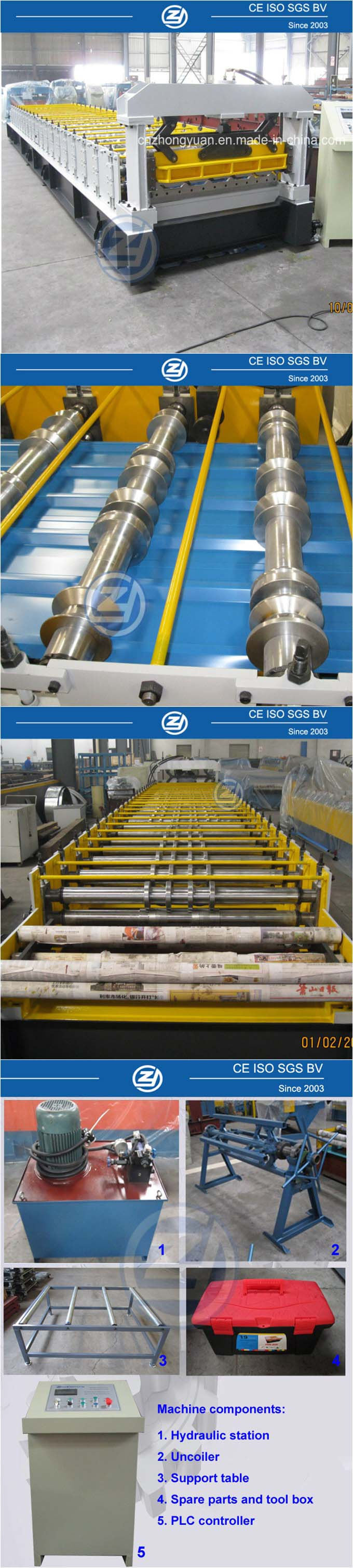 Roof Roll Forming Machine with ISO Certificate