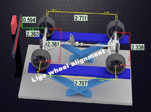 Car Maintain Staion Auto Wheel Alignment