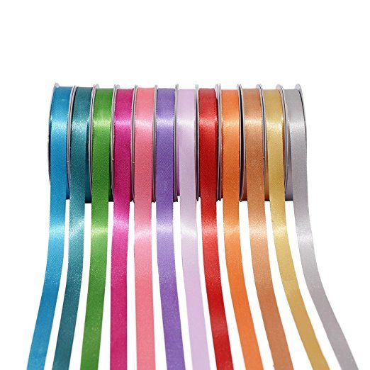 Wholesale Colorful Polyester Satin Ribbon (CRB-2015)