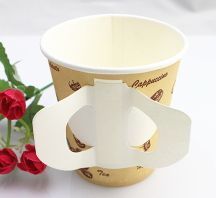 7oz, 9oz Disposable Single Wall Paper Cup with Handle