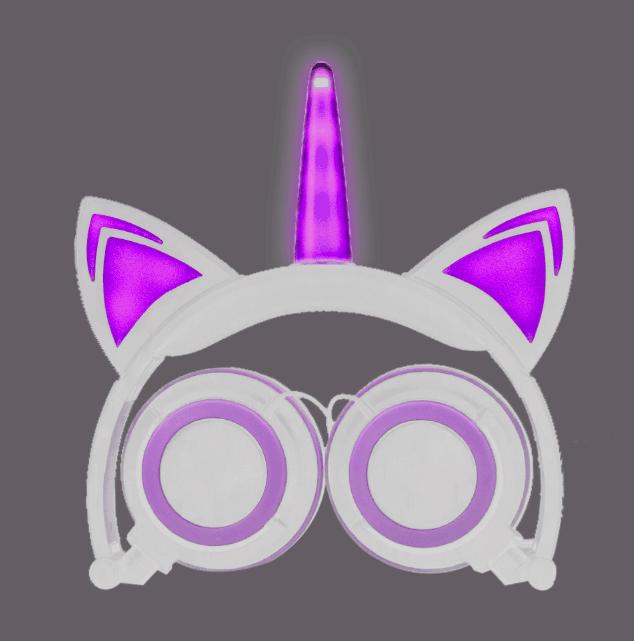 custom logo stereo kids headphone