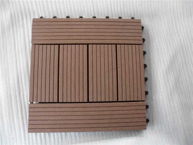 High Quality Garden Patio Cheap Floor Tiles WPC DIY Tiles