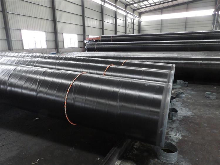 3PE Coating Pipeline Steel Pipes with Plastic Cap