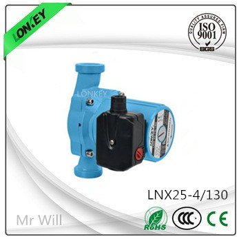 85W Three Speed Household Cast Iron Circulation Pump: Lnx25-4s/130