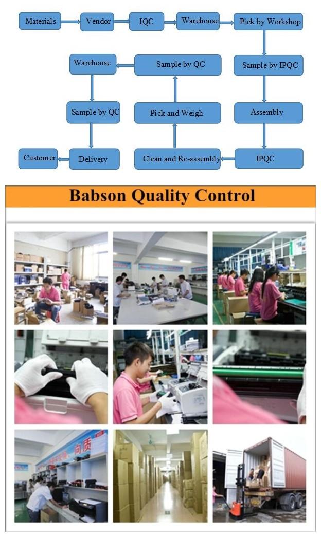 Large Capacity 5000pages Mlt-D205L Compatible Toner Cartridge for Samsung Ml-3310, Ml-3710, Scx-5637, Scx-4833