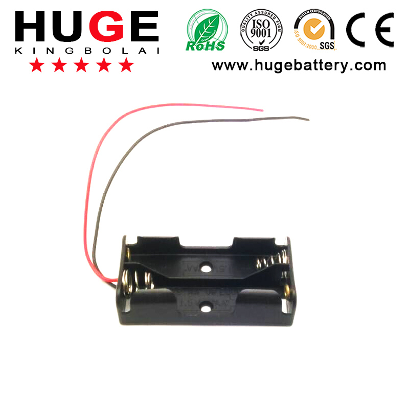 1.5V 2 options AAA battery holder switch