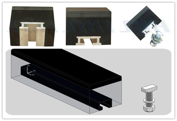 Belt Conveyor Flame Retardant Sliding Strip UHMWPE Impact Bar Mining Machinery Parts