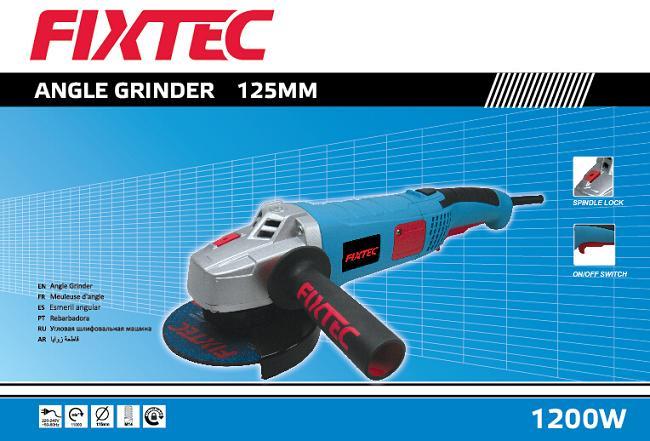 Fixtec 1200W 125mm Electric Mini Angle Grinder