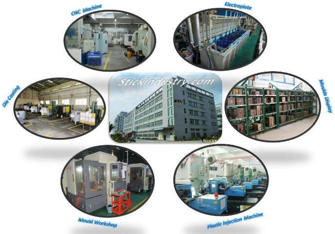 Industrial Customed Polishing Aluminum Alloy Die Casting