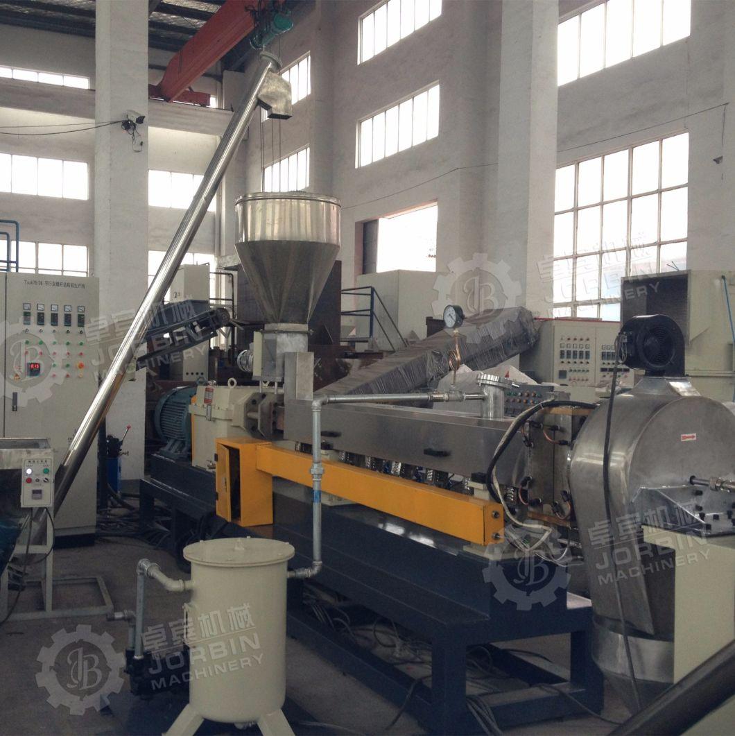 Plastic EVA Twin Screw Extruder Granulation Machine