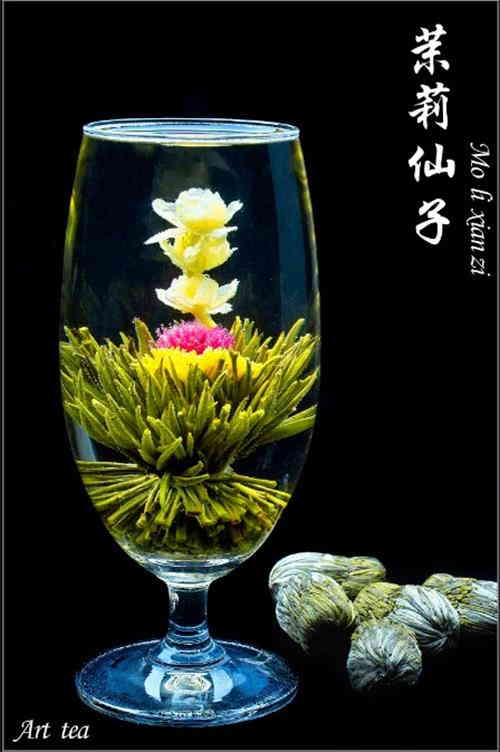 Vacuum Packed Blooming Tea
