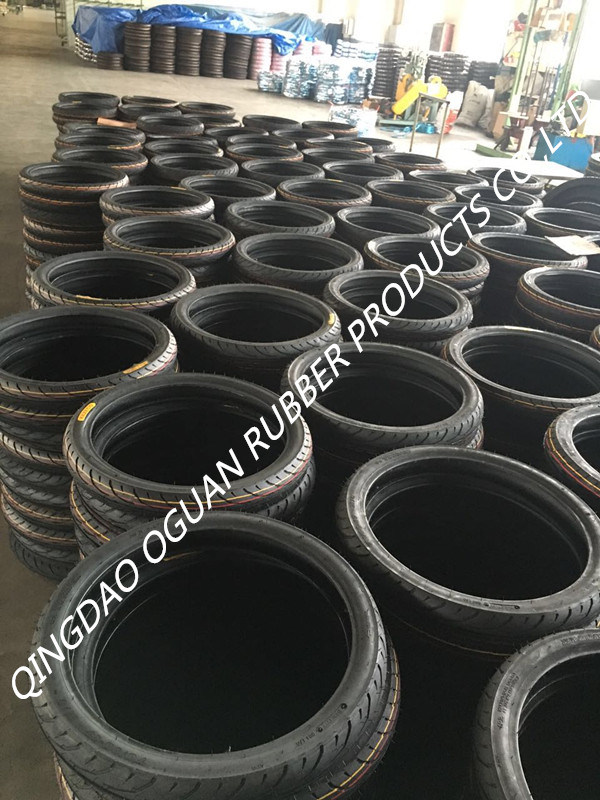 High Good Quality Motorcycle Tubeless Tire of 300-18tl