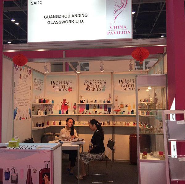 Ad-L4 Spray Pet Perfume Glass Sample Vial Bottle