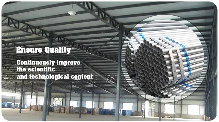 Large Stock Galvanized Steel Pipe