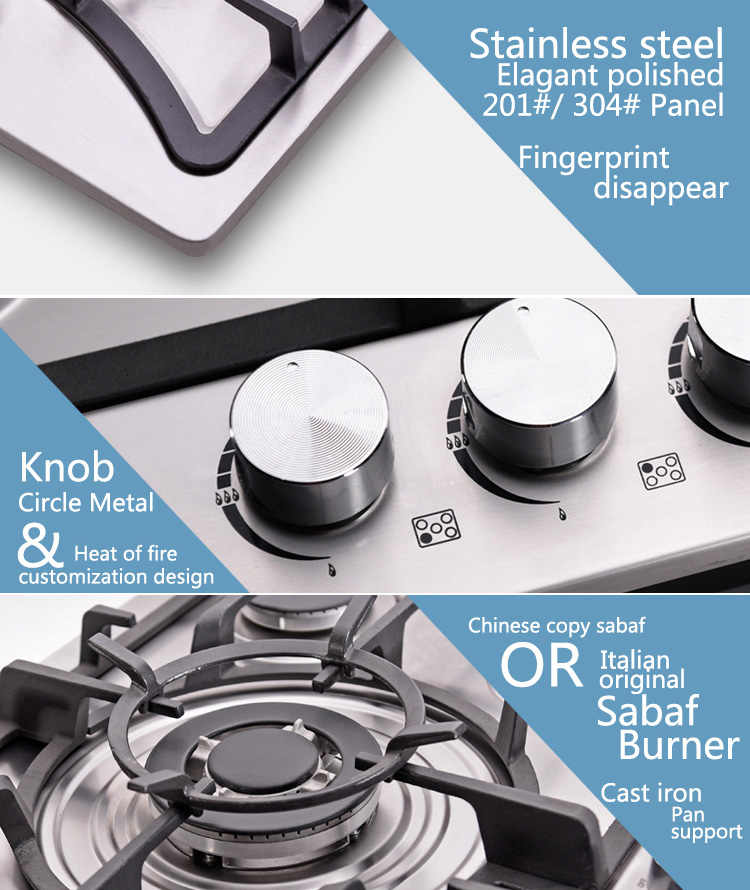 Cheapest Price with Ce Approved Home Use Gas Hob