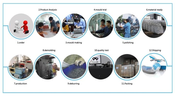OEM Stamping Pressing Aluminum Parts / Punching Die Metal Part / Casting Part