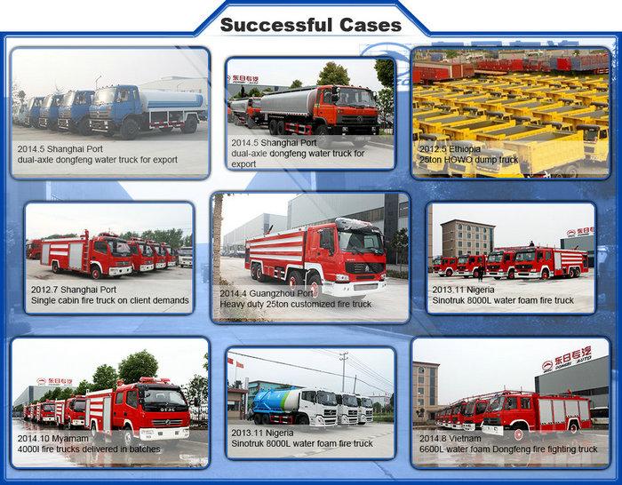 14m Dongfeng Euro 3 Aerial Work Platform Truck
