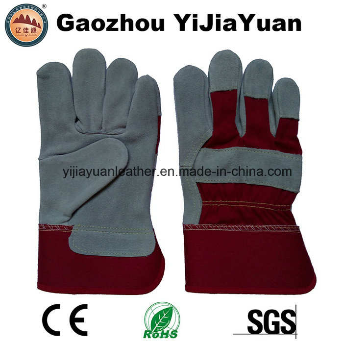 En 388 Working Leather Safety Labor Gloves with High Quality