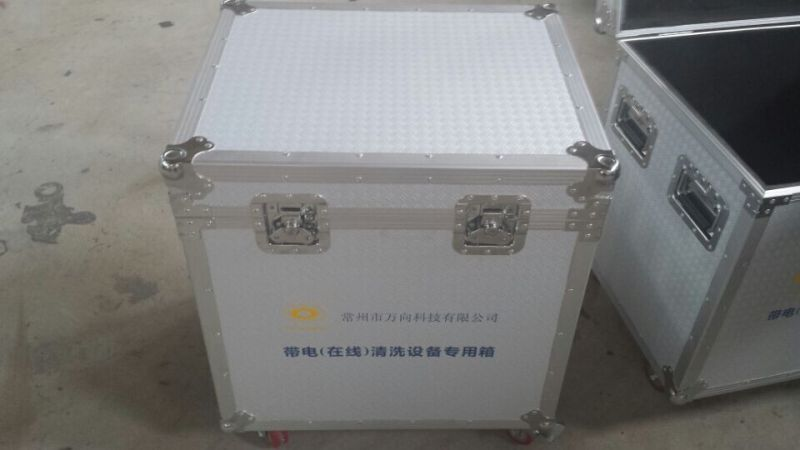 Aluminium Flight Case with Tool Compartments and Dividers