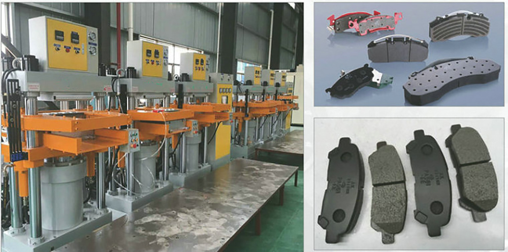 Brake Pads Powder Forming Press Machine