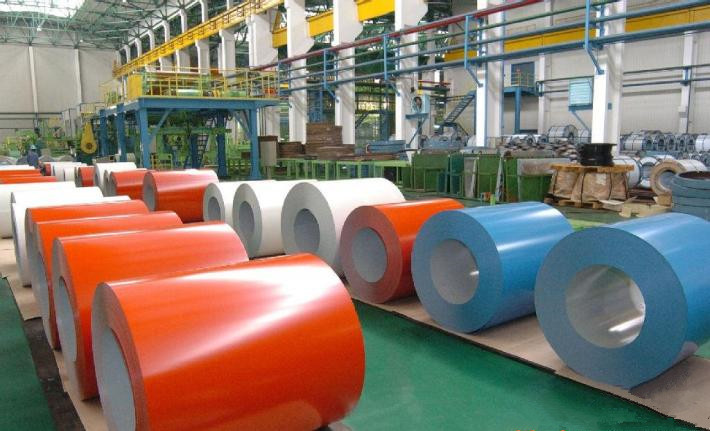 Color Coated Galvanized Steel PPGI Coil in Shandong