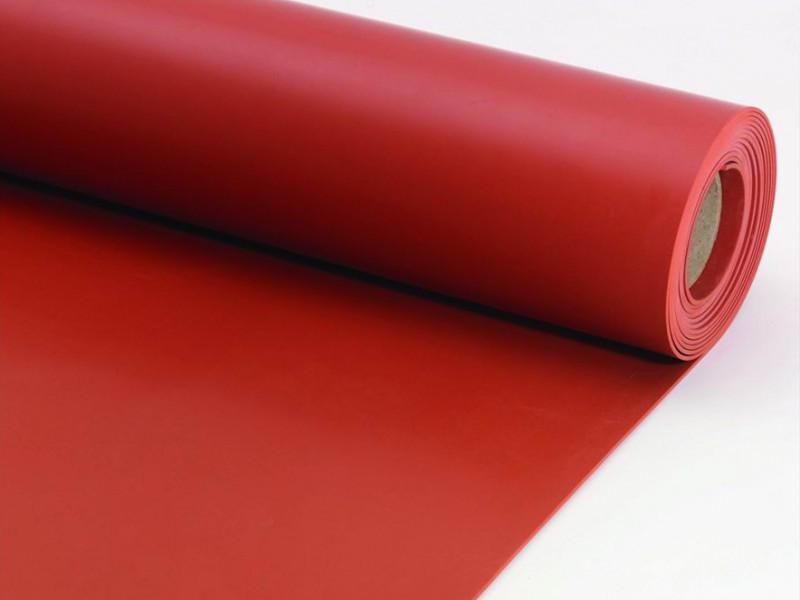 Red Rubber Mat SBR Rubber Sheet Roll Mat