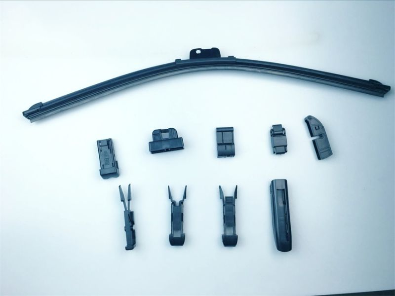 New Frameless Wiper Blade with 9 Adaptors