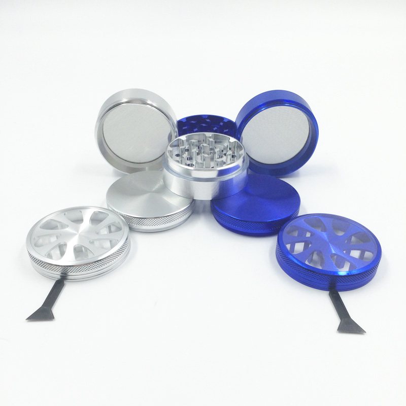 Fashion Coolest Whirlwind Style Design Herbal Grinder for Smoker (ES-GD-009-S)