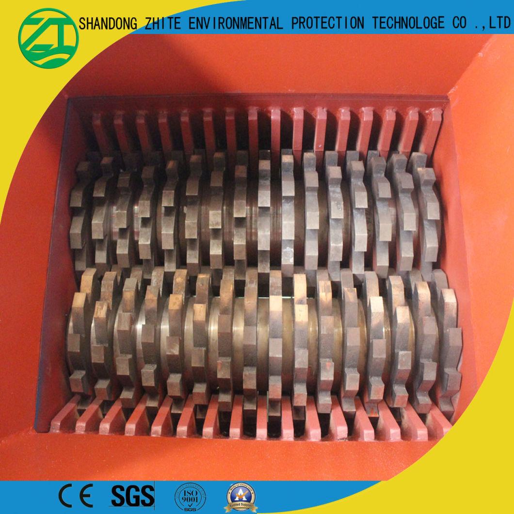 Double Shaft Crusher Shredder for Medical Waste/Plastic/Tyre/Metal/Fiber/Wood Recycling